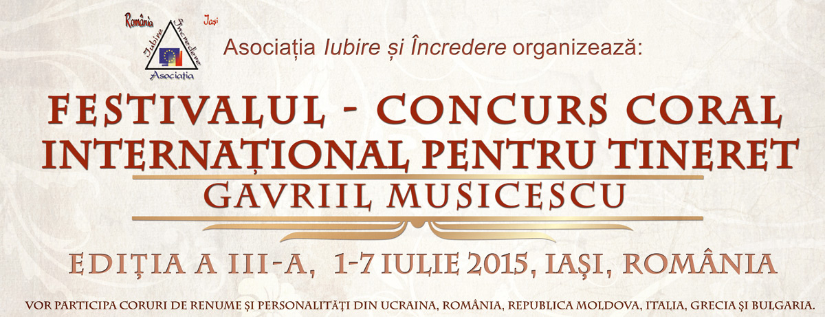 Festival - Concurs Coral International Iasi